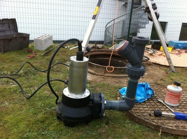 réparation pompe de relevage paris