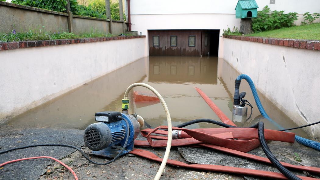 sous sol inondé