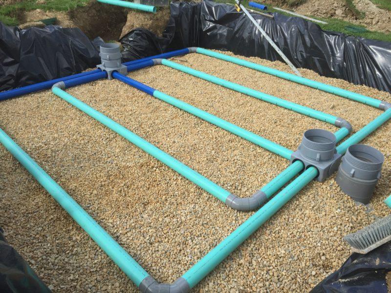 filtre à sable pour une fosse septique